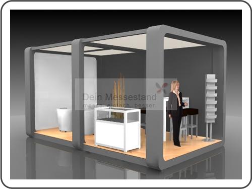 Messebau Materialica mit Design