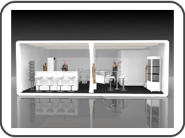 messebau metec messestand f r die metec d sseldorf. Black Bedroom Furniture Sets. Home Design Ideas