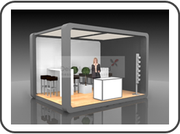 messebau nortec messestand f r die nortec hamburg. Black Bedroom Furniture Sets. Home Design Ideas