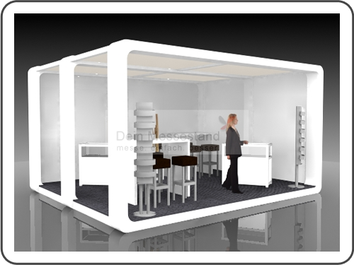 Messebau Rehacare mit Design