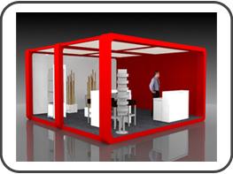 messebau imm messestand f r die imm cologne k ln. Black Bedroom Furniture Sets. Home Design Ideas