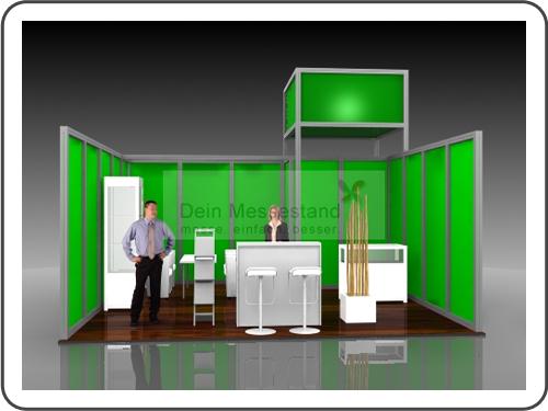 Messebau Biotechnica mit System