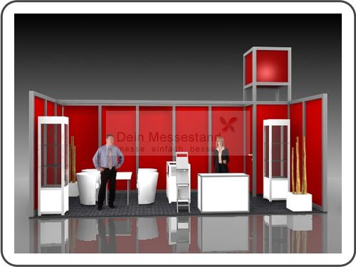 Messebau Fastener Fair mit System