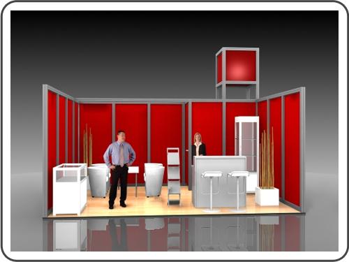 Messebau Leipziger Buchmesse mit System
