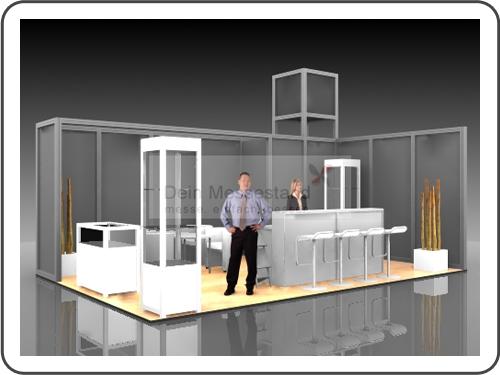 Messebau Musikmesse mit System