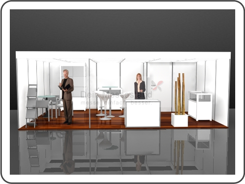 Messebau ABF Stellwand Messestand