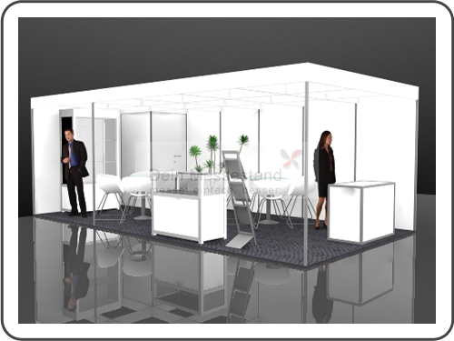 Messebau Asia Pacific Sourcing Stellwand Messestand