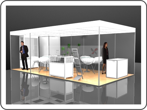 Messebau Infa Stellwand Messestand
