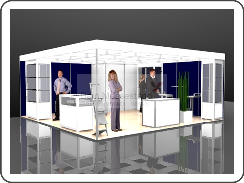 Messebau Internorga Stellwand Messestand