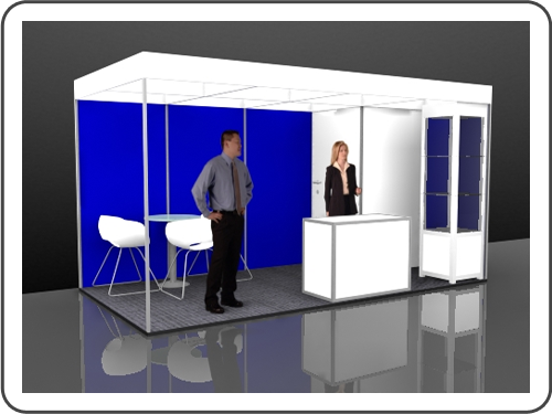 Messebau Wire Stellwand Messestand