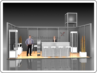 Messebauer für modularen Messebau in der Region Düsseldorf