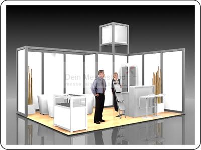 Messebauer für modularen Messebau in der Region Frankfurt