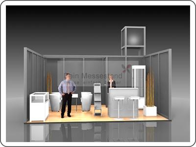 Messebauer für modularen Messebau in der Region Hamburg