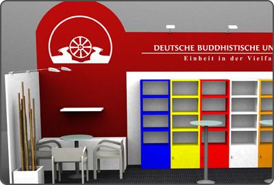 Messebau Buchmesse Frankfurt