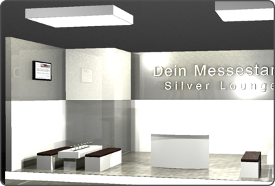Messebau im Loungestil in Düsseldorf