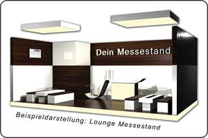 Messebau Bremen Lounge Messestand
