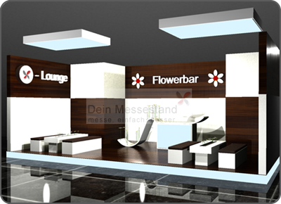 Messestand Loungedesign