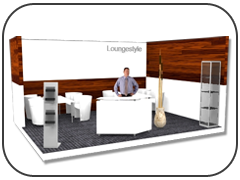 Lounge Messestand