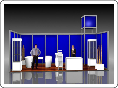 Messestand Octanorm Maxima Hannover
