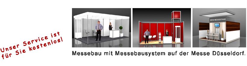 Messebau mit System Düsseldorf