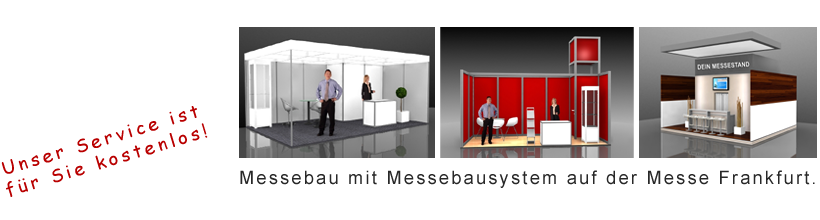 Messebau mit System Frankfurt