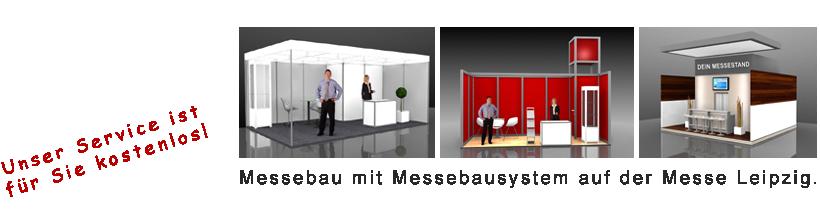Messebau mit System Leipzig