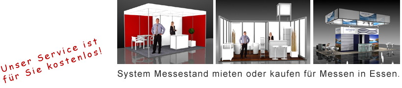 System Messestand Essen