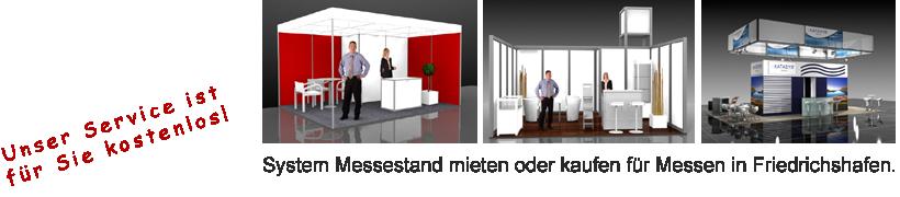 System Messestand Friedrichshafen