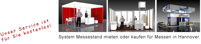 System Messestand Hannover