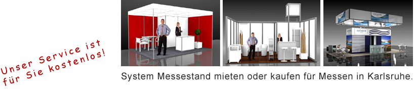 System Messestand Karlsruhe