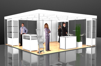 System Messestand Leipzig