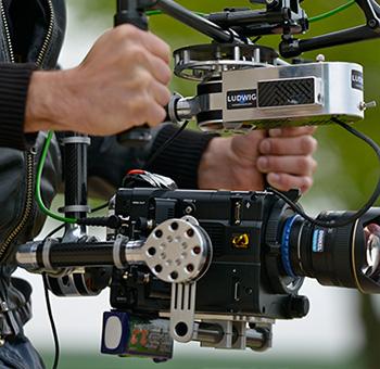 Kameramann Filmaufnahme