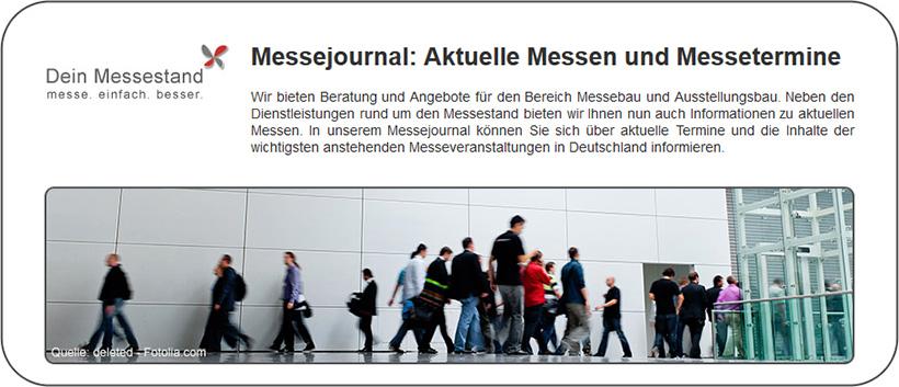 Messejournal + Messezeitung