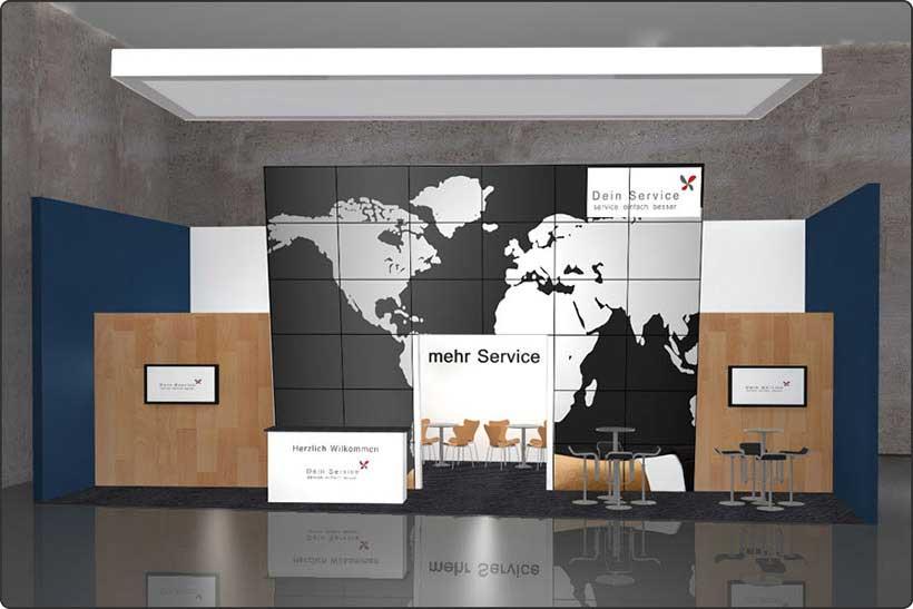 Exhibition stand trade show Munich