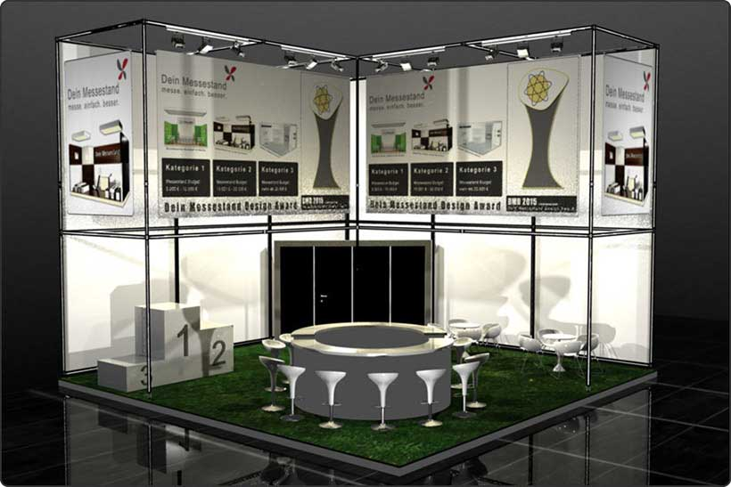 Exhibition stand trade show Stuttgart
