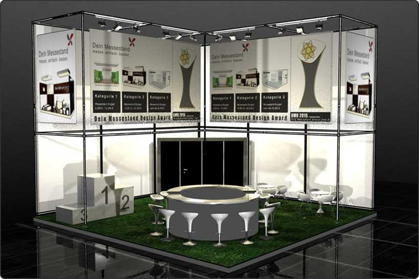 Exhibition stand trade show Stuttgart