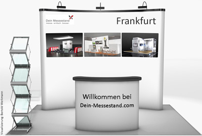 Display Messestand Frankfurt