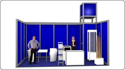 Messestand Frankfurt modular Octanorm