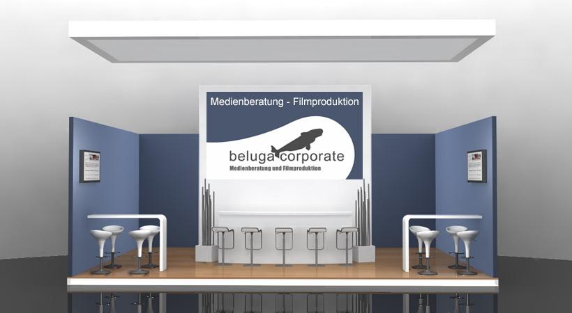 Beluga Corporate 30 qm Messestand auf der CeBIT 2014