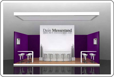 Messeauftritt Lounge Messestand