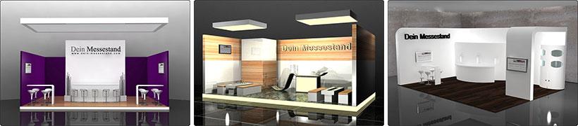 Messebau individuelles Design