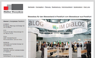 Messebaufirma aus der Region Frankfurt