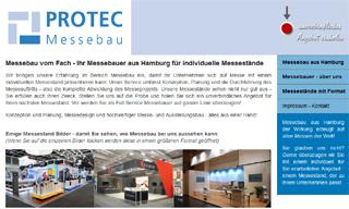 Messebaufirma aus der Region Hamburg
