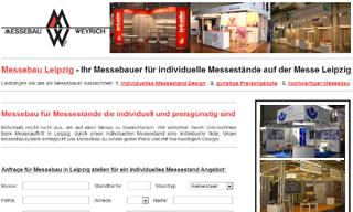 Messebaufirma aus der Region Leipzig
