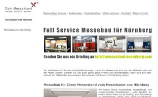 Messebaufirma aus der Region Nürnberg