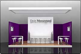 Messestand Berlin - Reihenstand Meeting