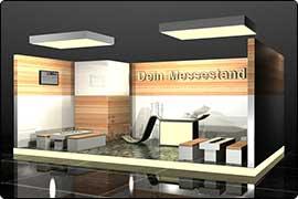 Messestand Düsseldorf - Reihenstand Lounge