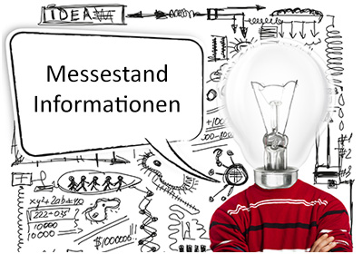 Messestand Informationen