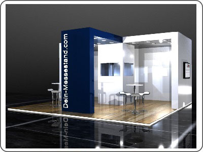 Messestand mieten 20.000 Euro Design Messestand