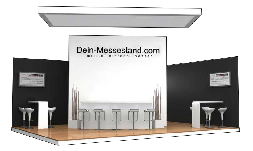 Messestand Standort Hamburg